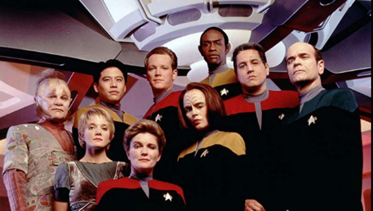 Star Trek Voyager cast