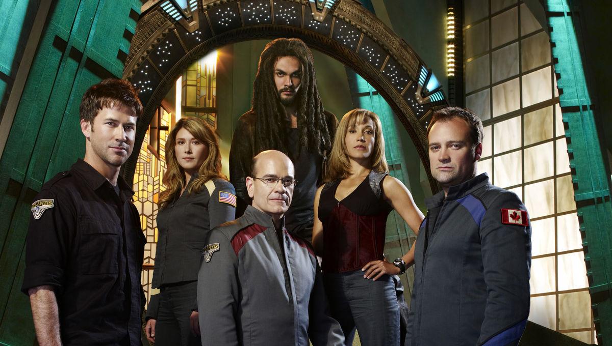 Stargate Atlantis cast Getty
