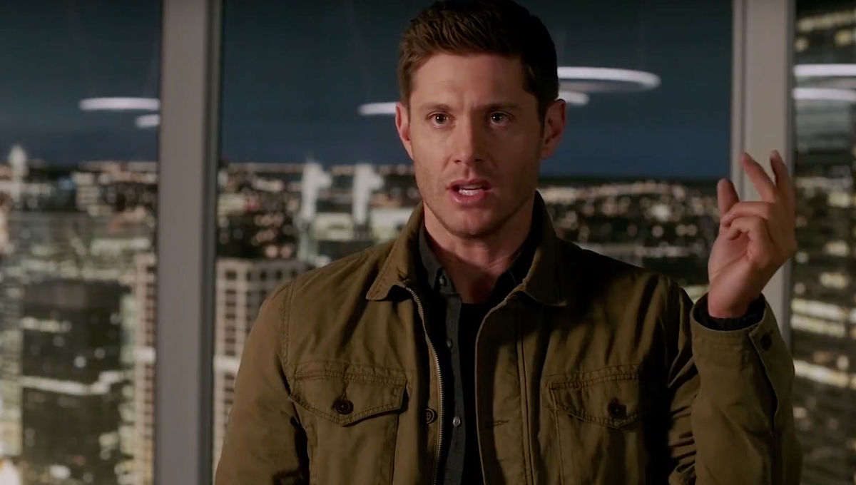 Jensen Ackles as Dean Winchester in Supernatural on The CW