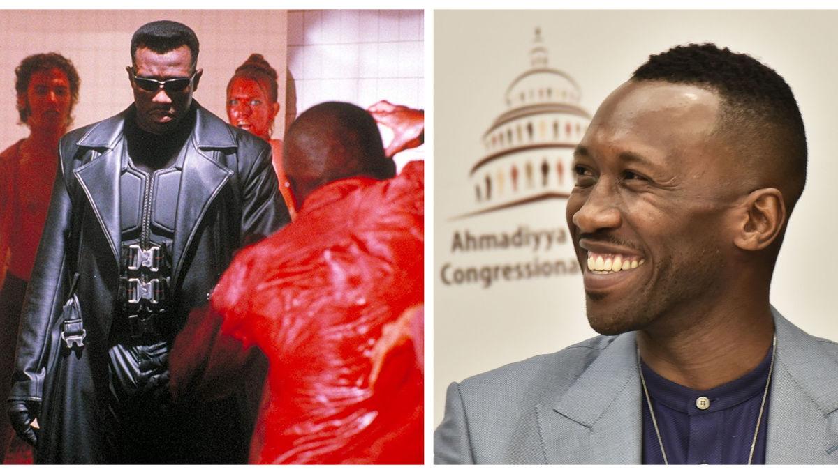 Wesley Snipes Blade Mahershala Ali