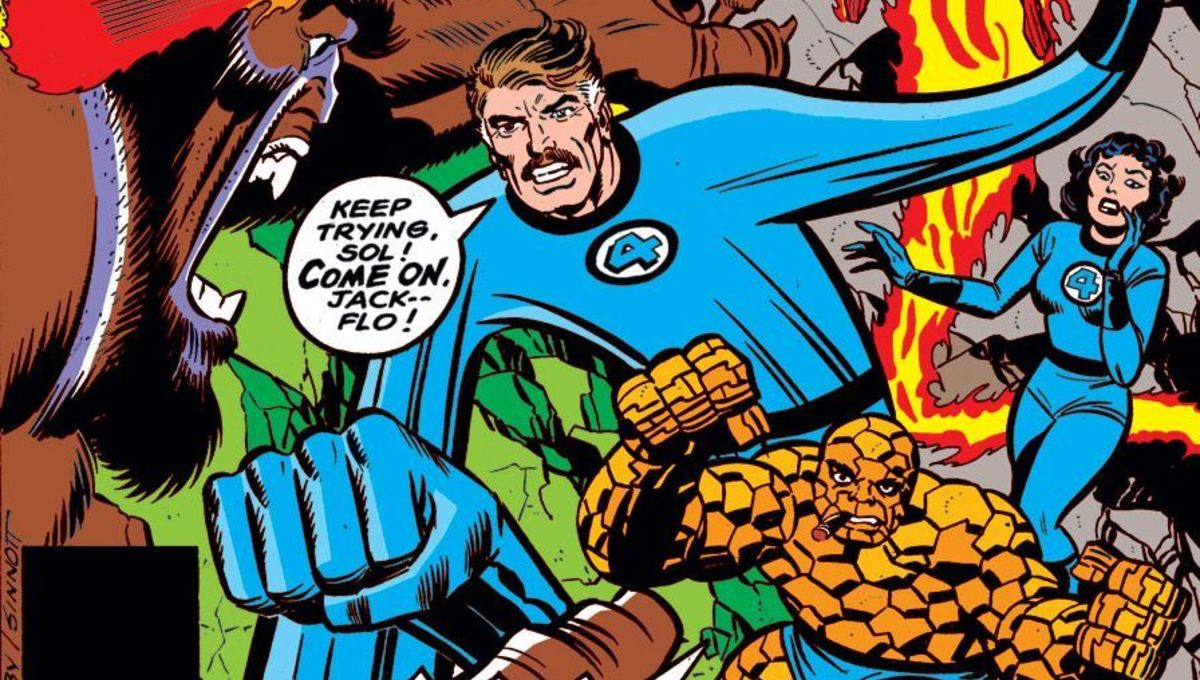 """What If #11 """"What If The Original Marvel Bullpen Had Become the Fantastic Four?"""" (Credit: Marvel)"""