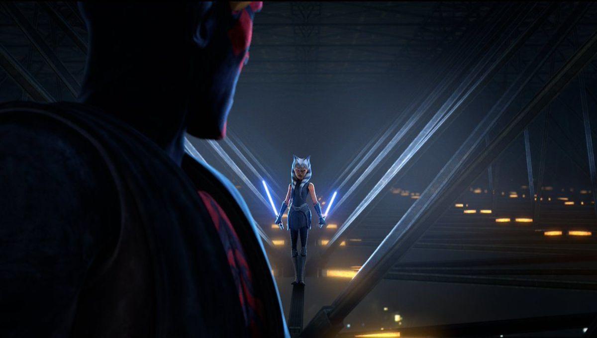 Star Wars: The Clone Wars (Ahsoka and Maul)