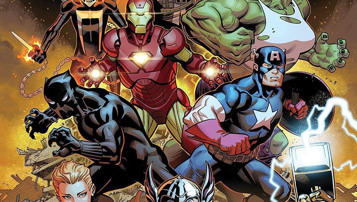 Avengers team hero
