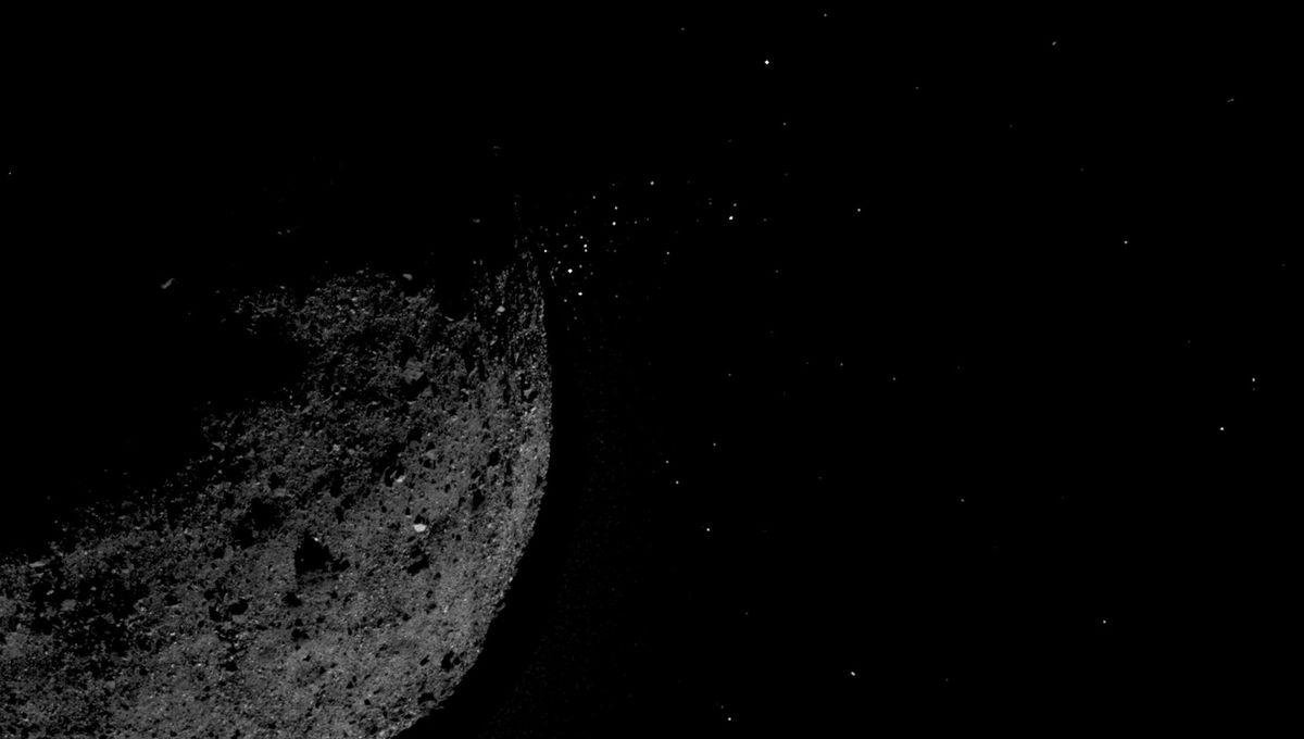 NASA image of Bennu