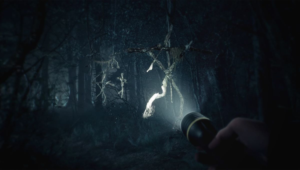 Blair Witch game key art