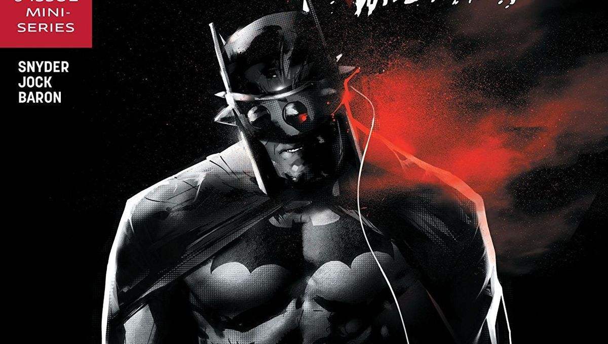 The Batman Who Laughs #4 Cover