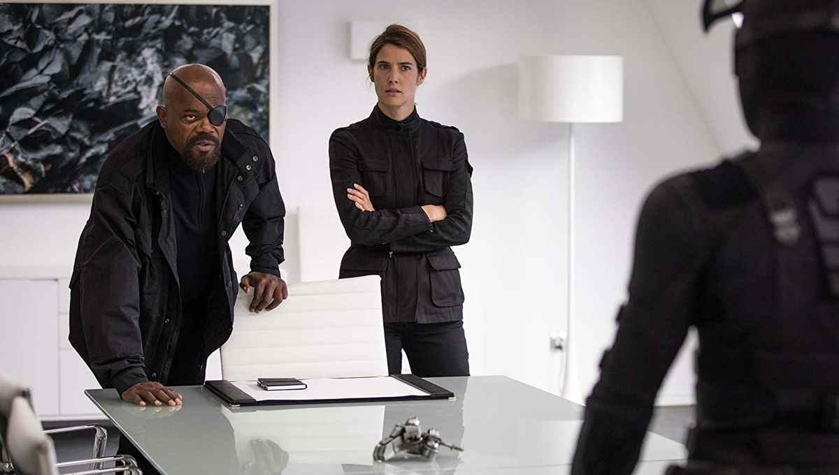 Cobie Smulders Maria Hill Spider-Man: Far From Home