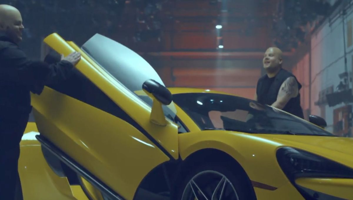 James Corden and Josh Gad try to be Hobbs & Shaw