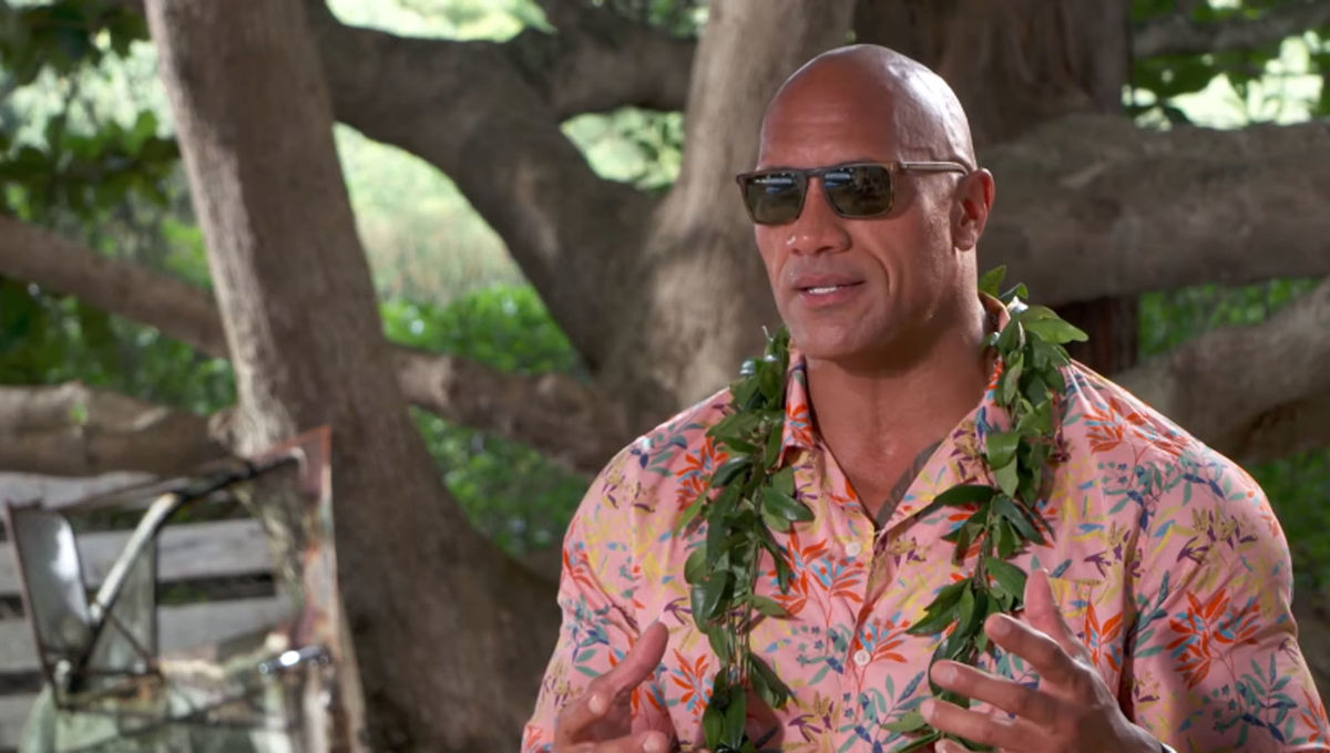 Dwayne Johnson Talks Family in Hobbs and Shaw
