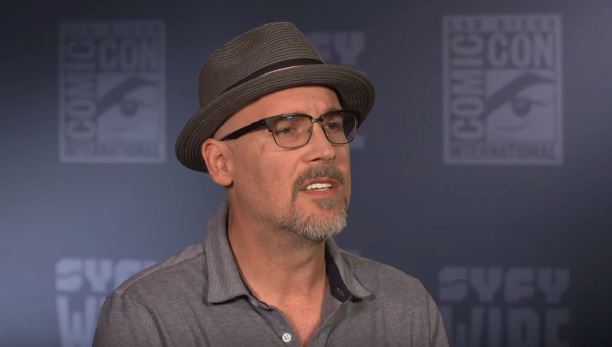Ed Brubaker at San Diego Comic-Con