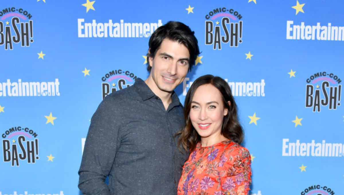 Brandon Routh Courtney Ford