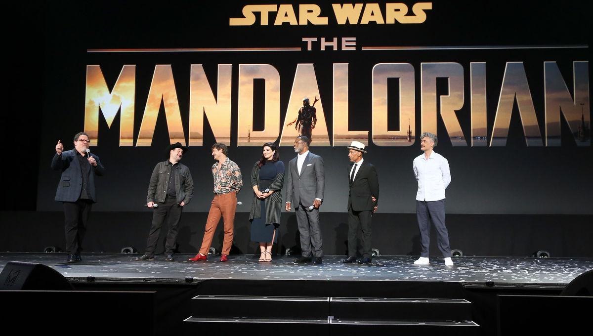 The Mandalorian announcement D23 Disney+