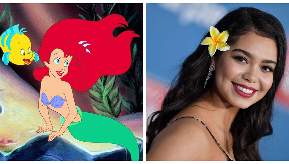 Little Mermaid Moana