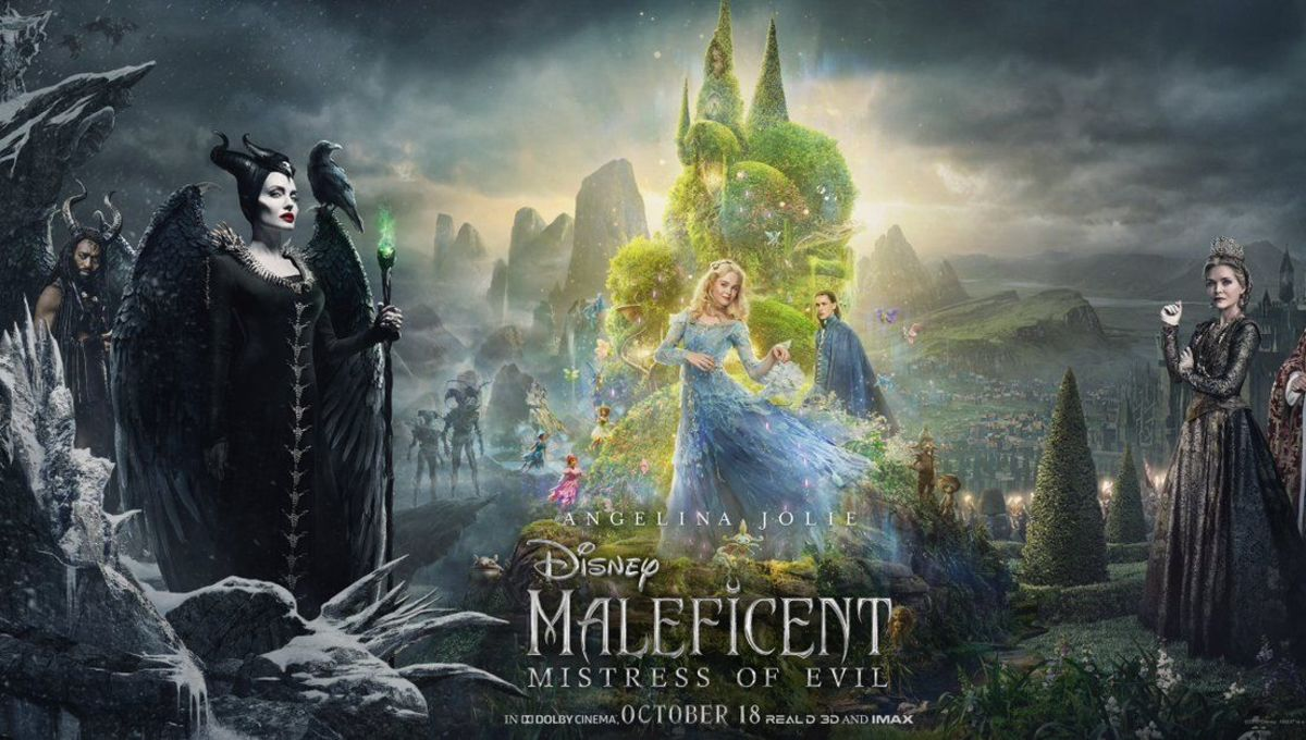 Movie poster for Maleficent sequel from Disney