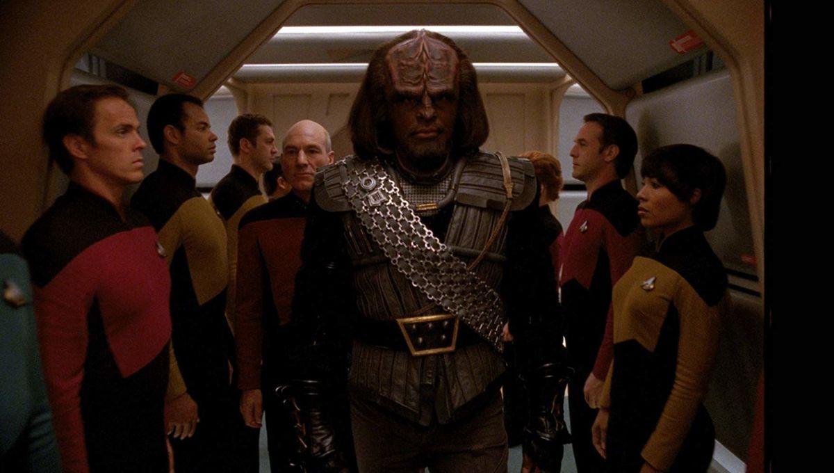 Michael Dorn Worf Star Trek The Next Generation