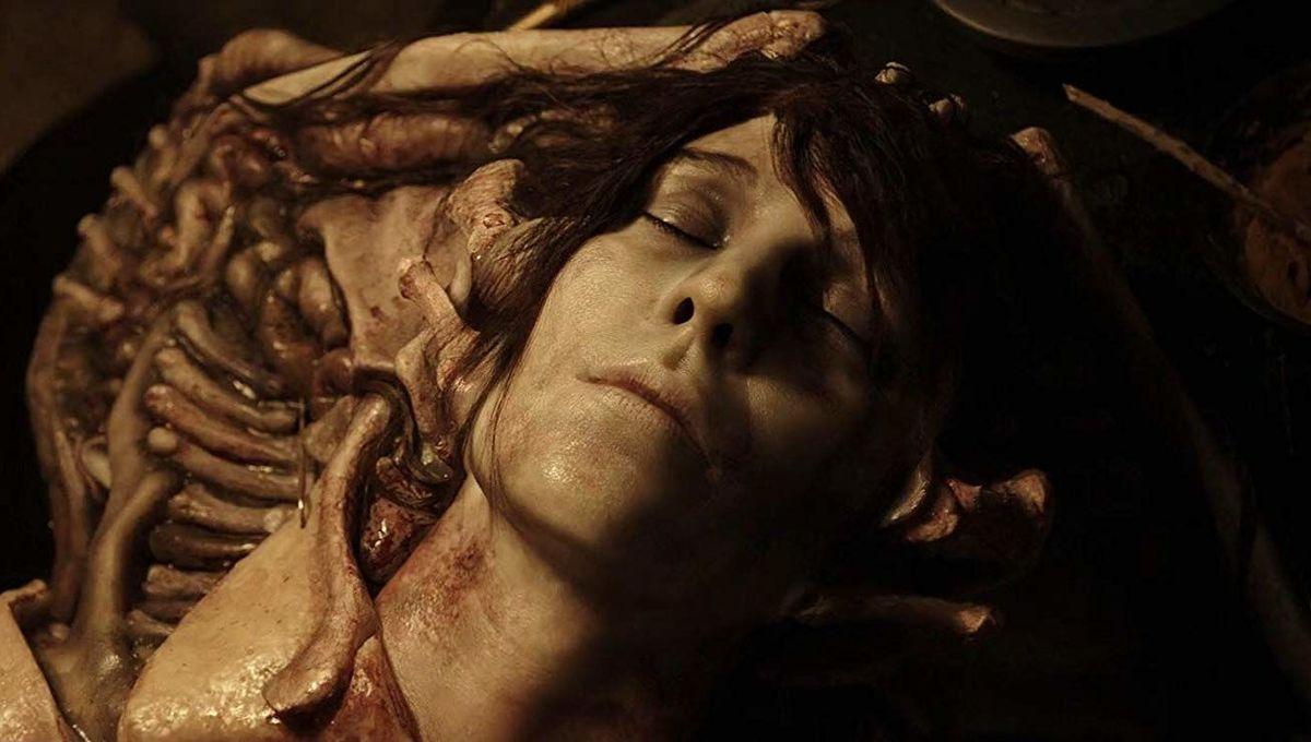 Elizabeth Shaw corpse Alien Covenant