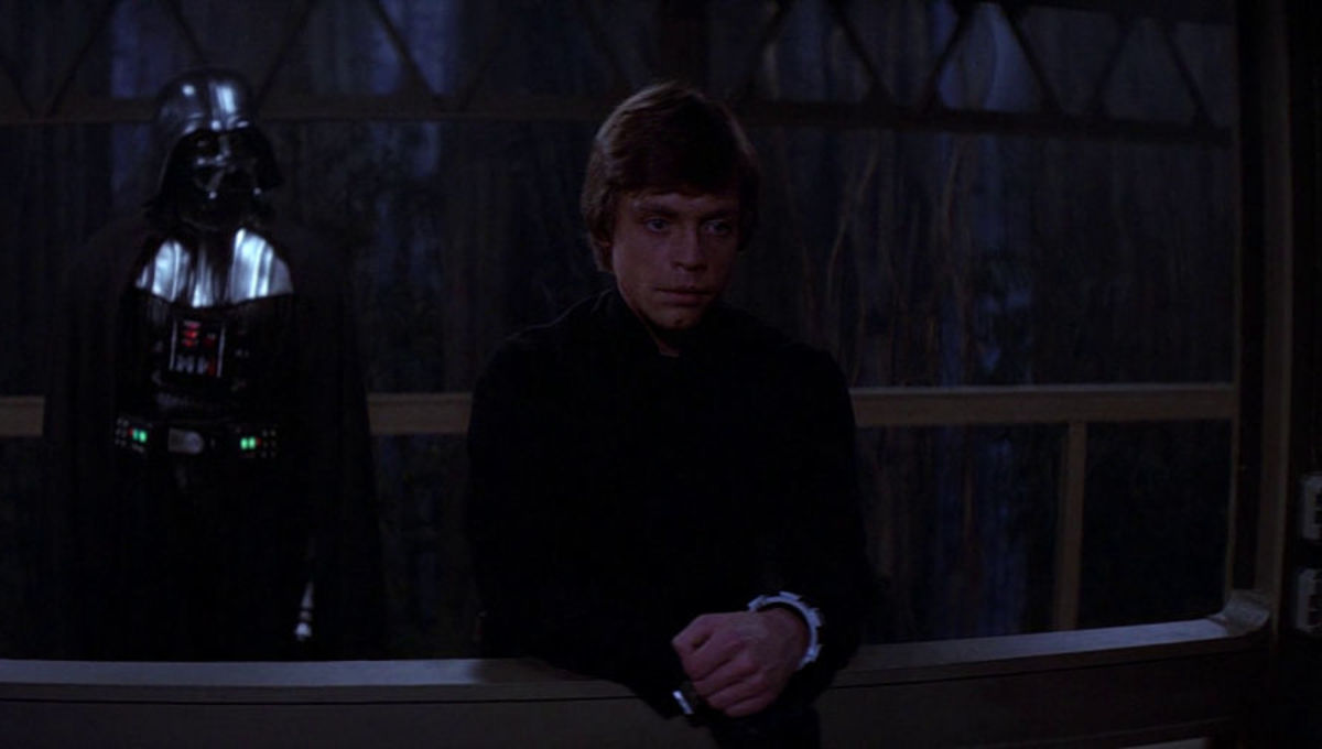 Luke Skywalker Darth Vader Return of the Jedi