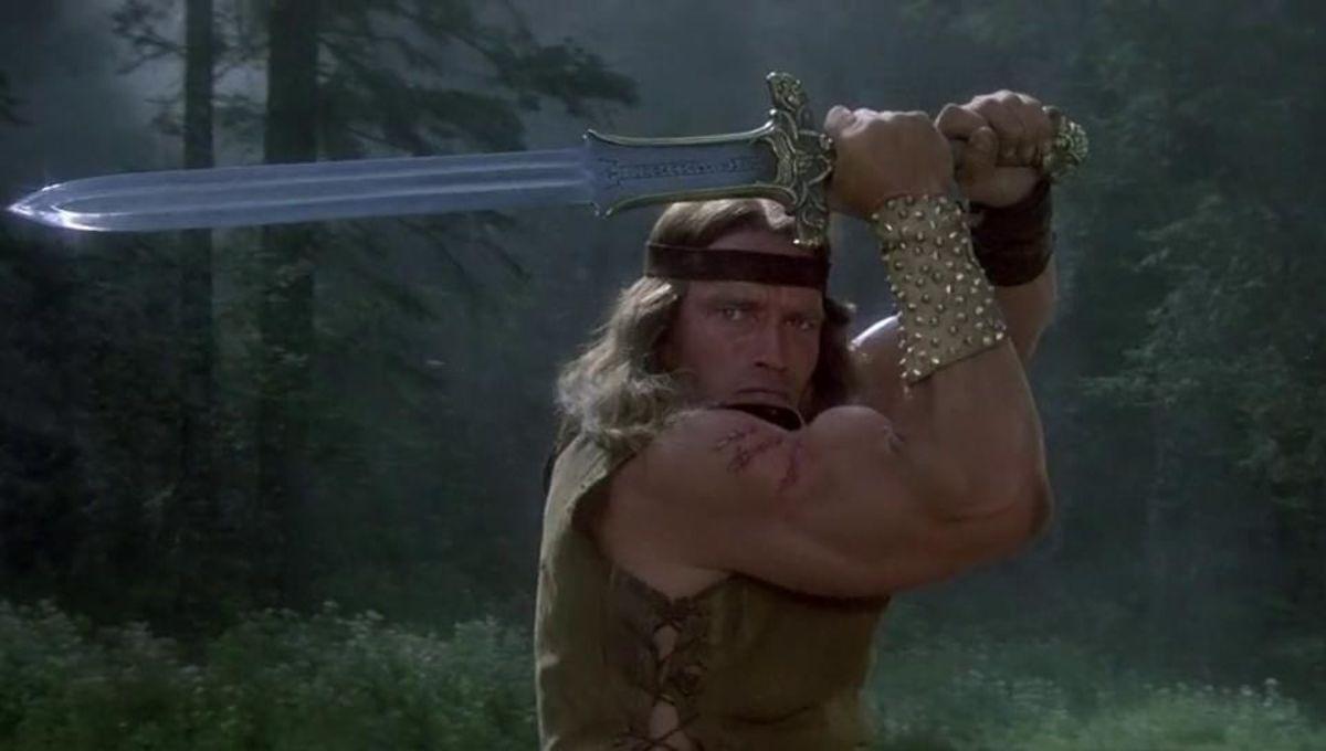 Arnold Schwarzenegger in Conan the Destroyer