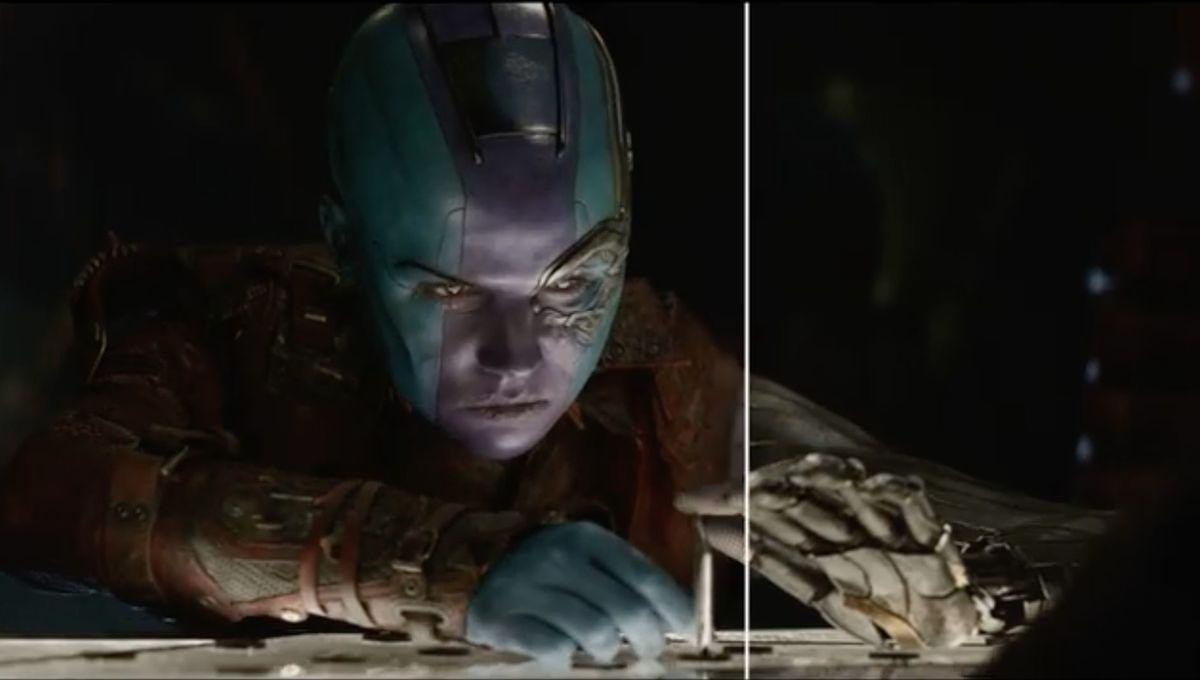 Karen Gillan in Avengers: Endgame (Cinesite VFX Reel)