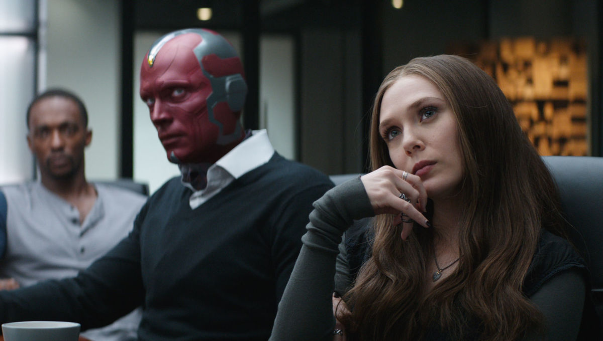 Vision and Scarlet Witch Civil War