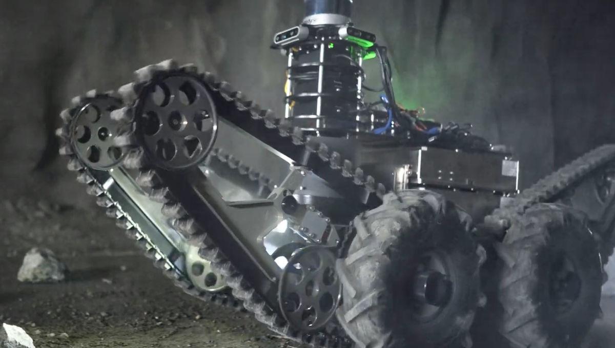 NASA JPL robot