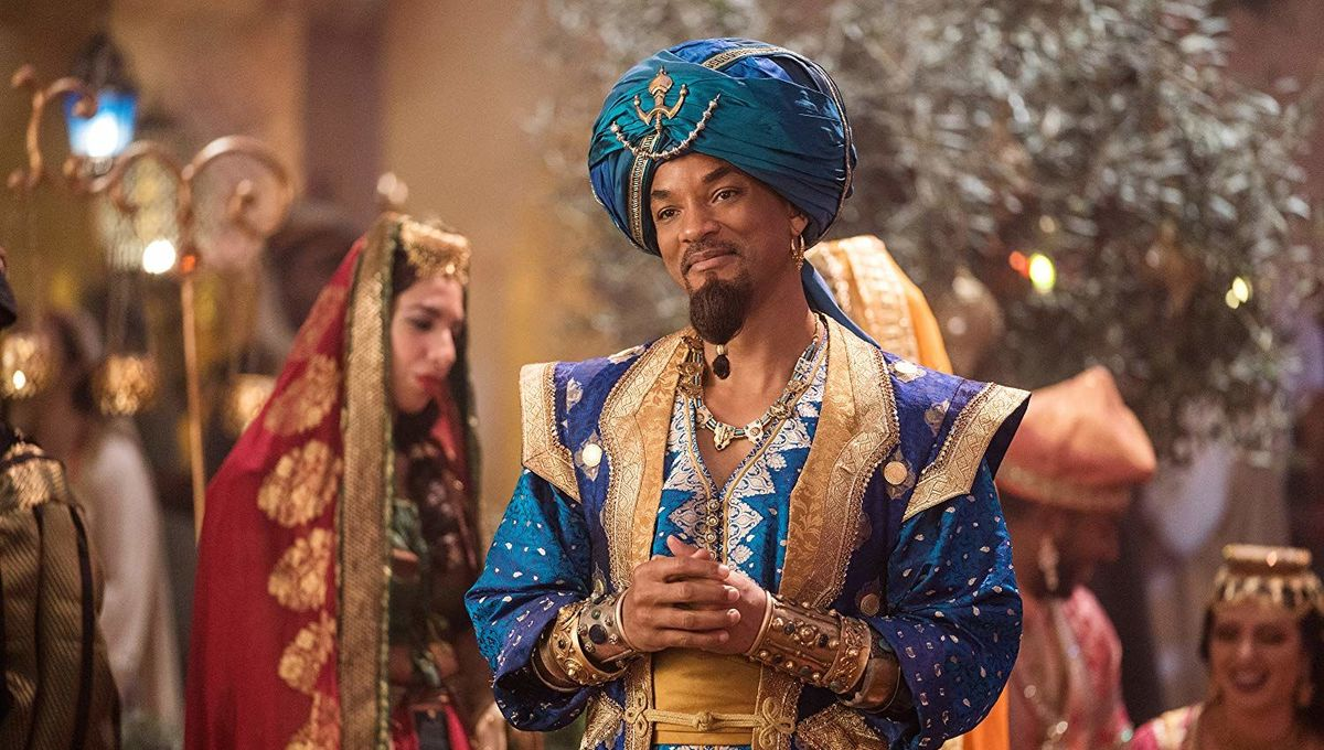 The Genie in Aladdin 2019
