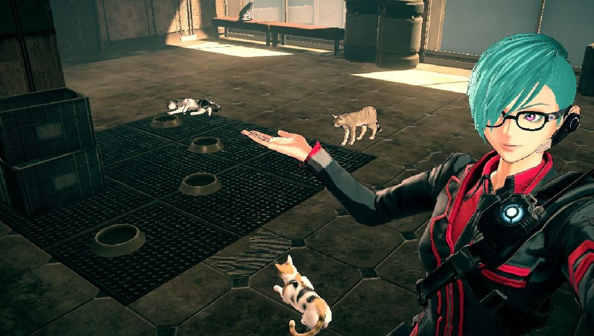 Astral Chain Cats