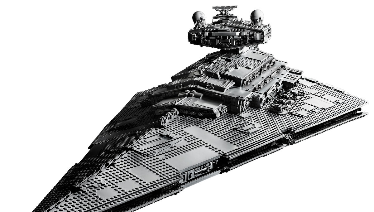LEGO Star Destroyer Front
