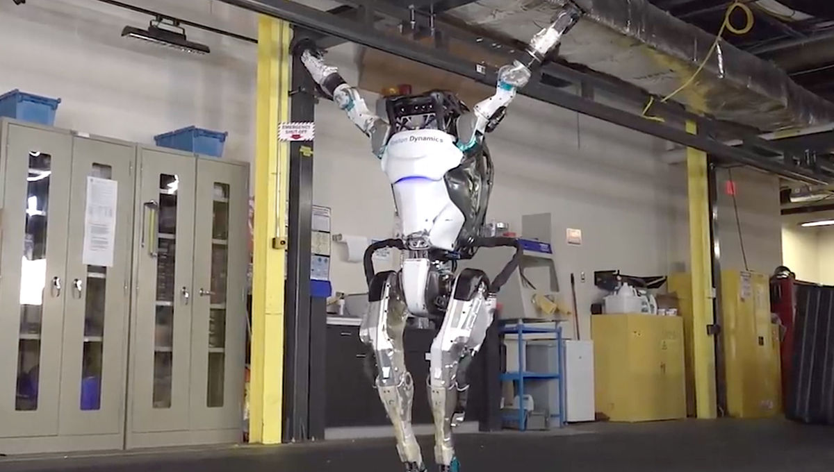 The Atlas robot from Boston Dynamics