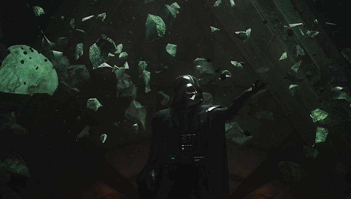 Darth Vader in Vader Immortal VR game