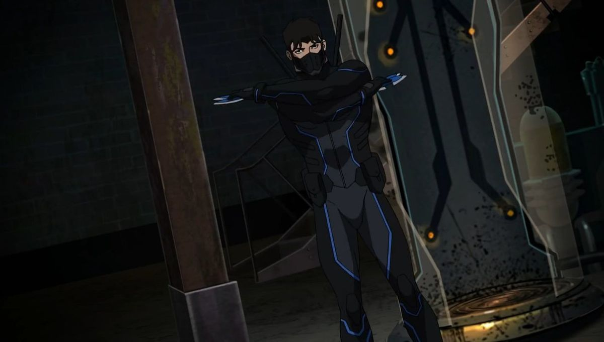 Dick Grayson Young Justice Season 3