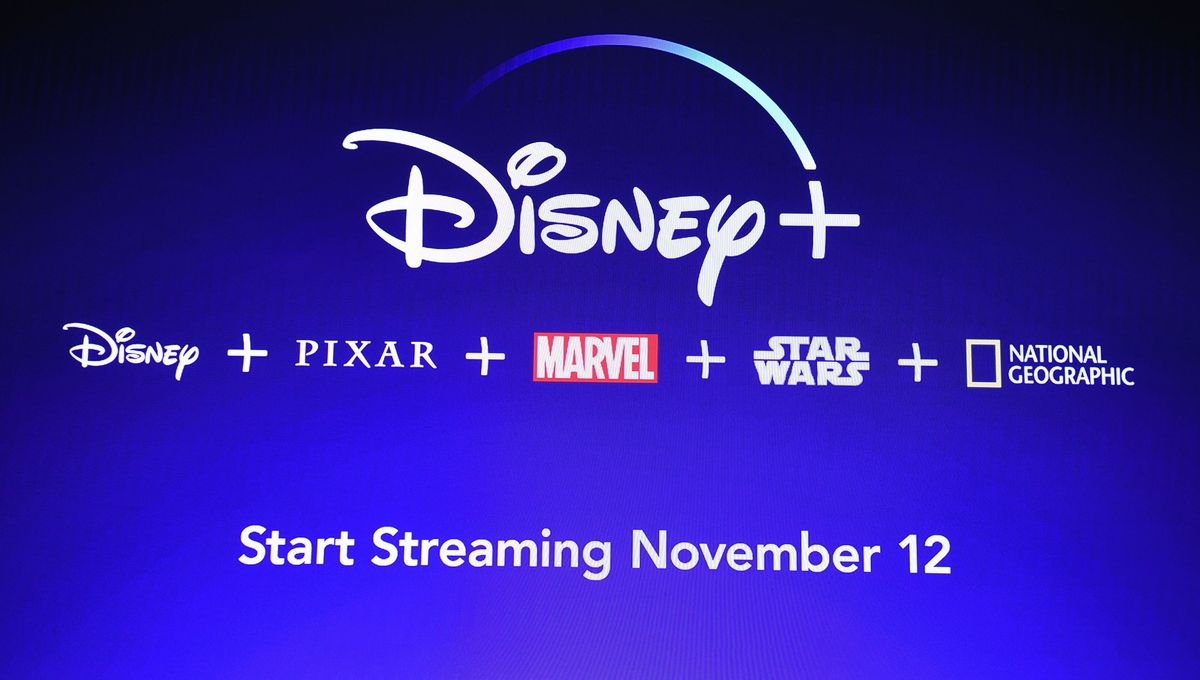 Disney+ main page