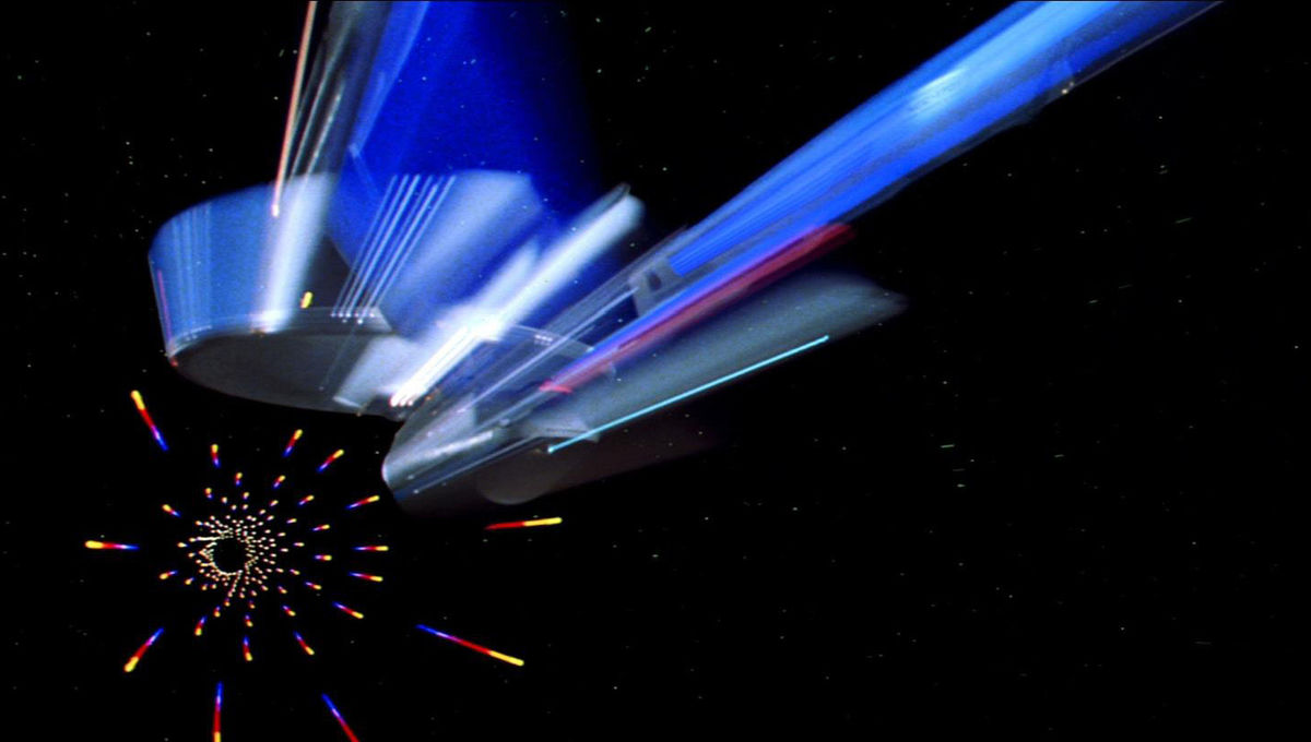 enterprise at warp tmp
