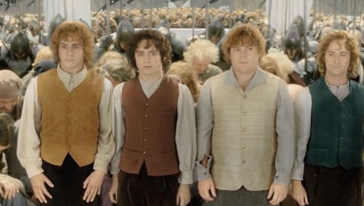 The Lord of the Rings: The Return of the King (Frodo, Sam, Pippin, Merry)