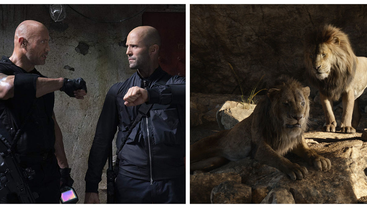 Hobbs & Shaw The Lion King