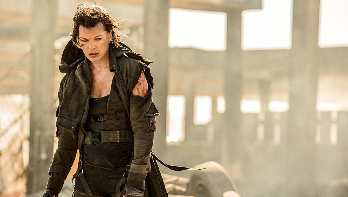 Mila Jovovich Resident Evil the Final Chapter