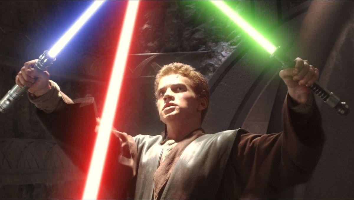 Anakin Skywalker Star Wars Attack of the Clones