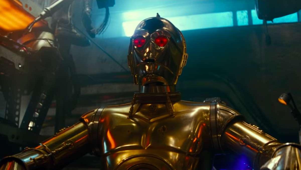C-3PO The Rise of Skywalker