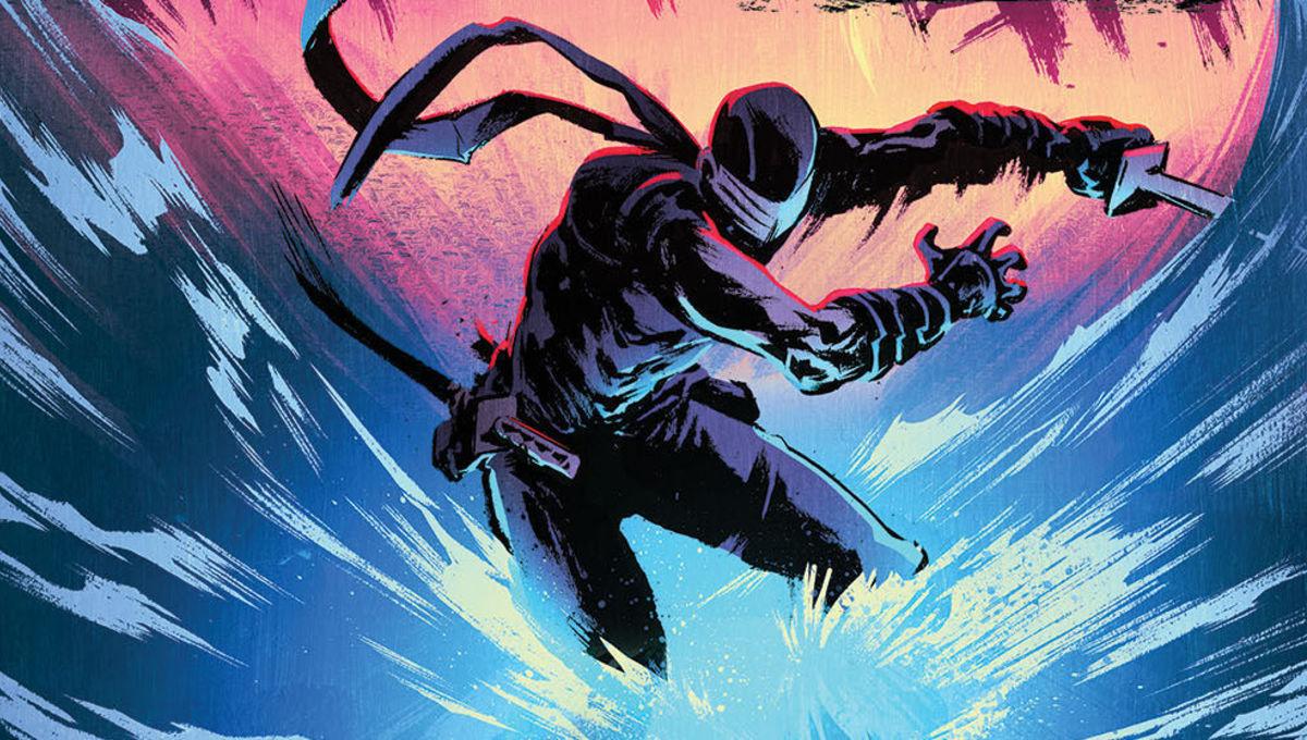 Snake Eyes via IDW Publishing