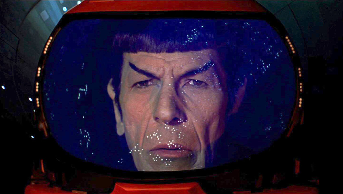 spock in space suit