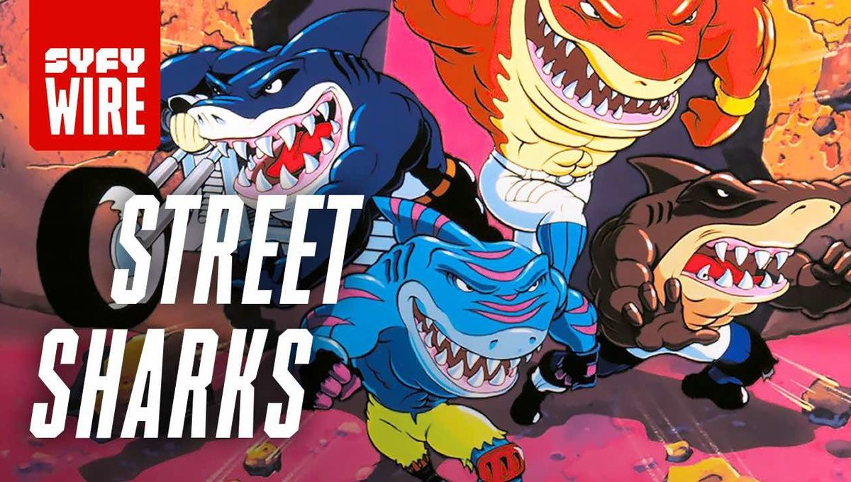 Street Sharks hero