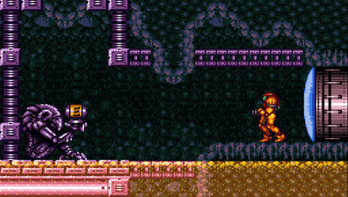 Super Metroid screen shot