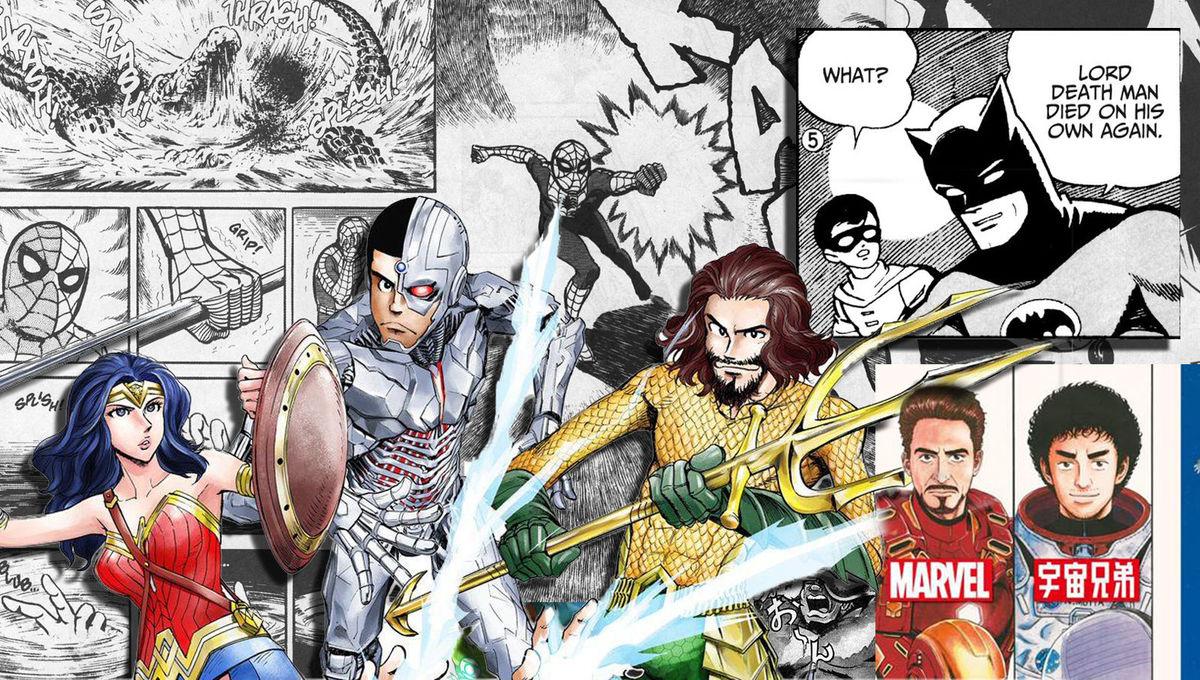 Superhero Manga