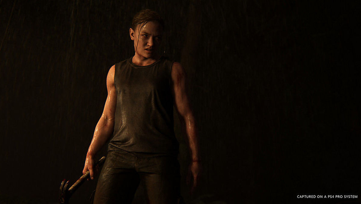 Ellie in The Last of Us 2