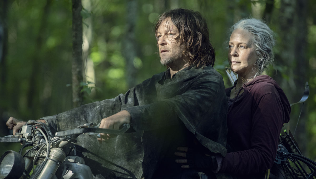 The Walking Dead Season 10 Carol and Daryl