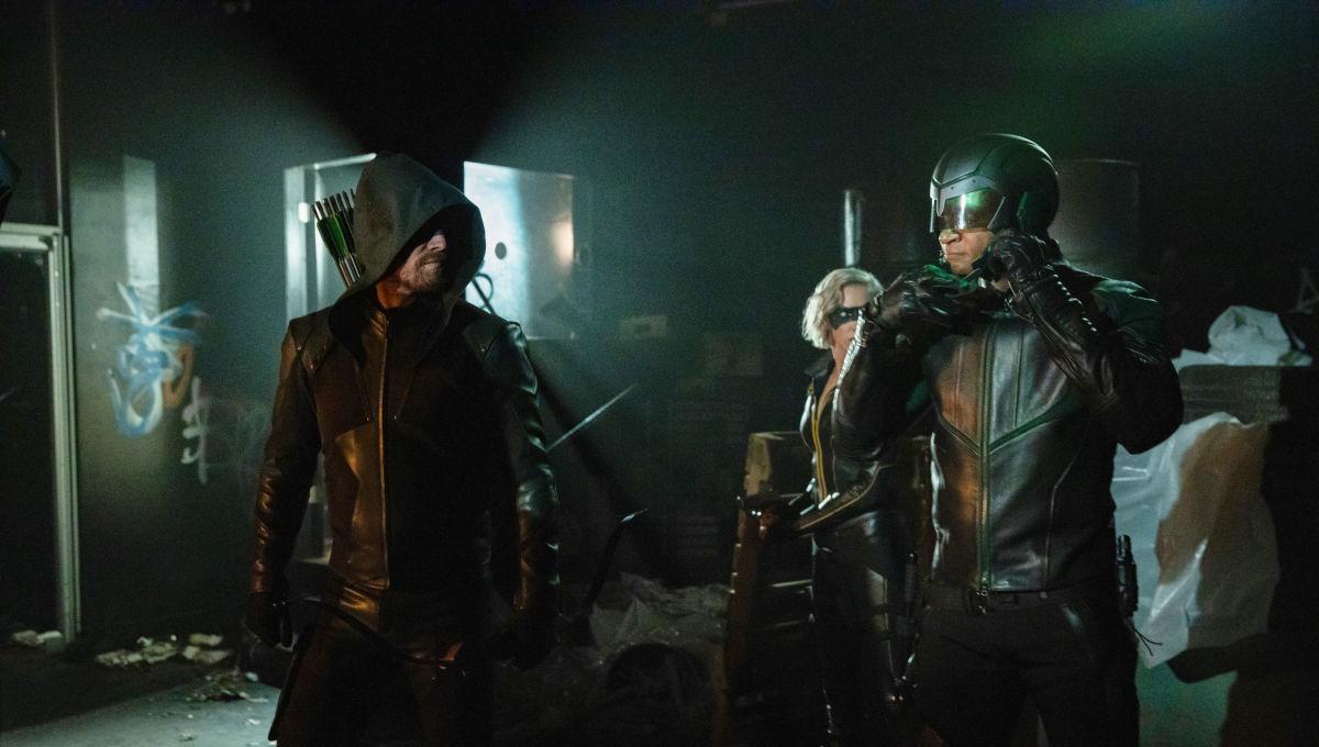 Arrow Season 8 Team Arrow