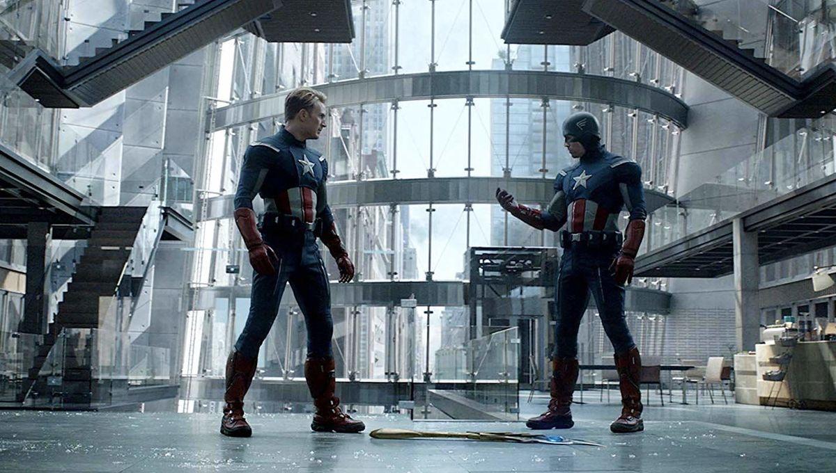 Avengers Endgame Cap vs Cap