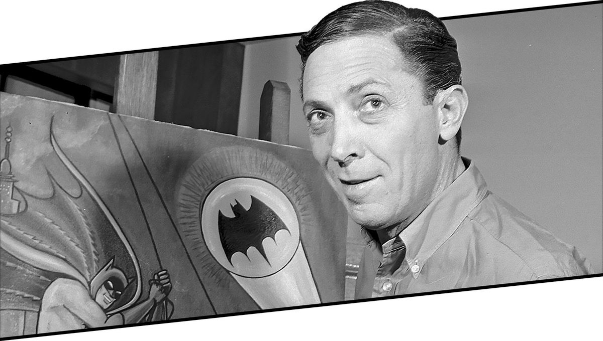 Batman co-creator Bob Kane in 1989
