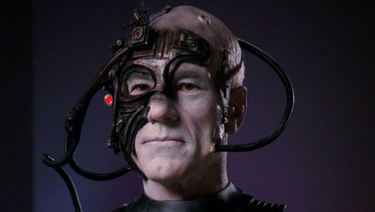 Picard as the Borg