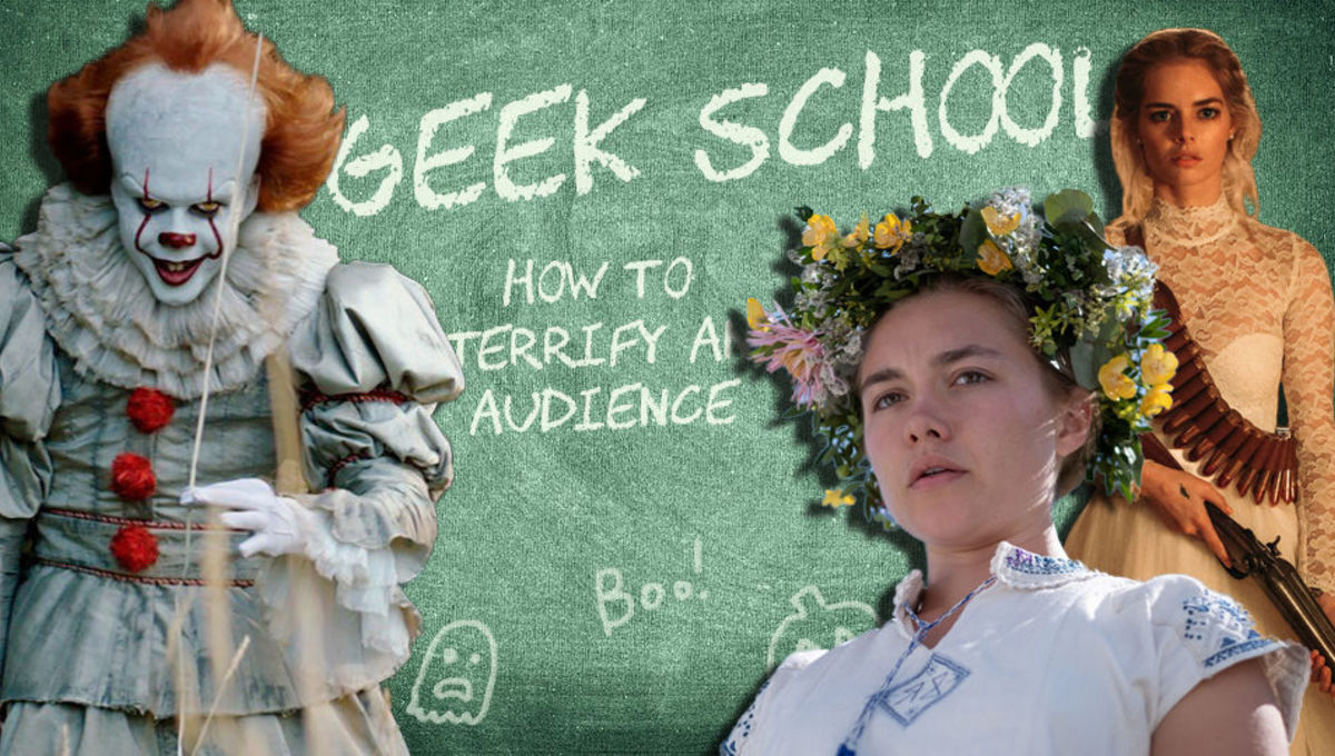 Geek School How to terrify an audience